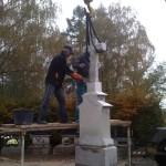 Reastaurování pomníku (1)